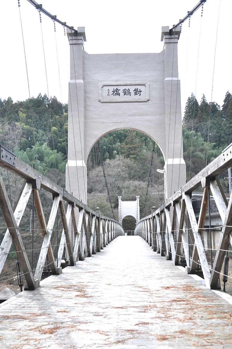 電力王「福沢桃介」が架けた吊り橋 1919年