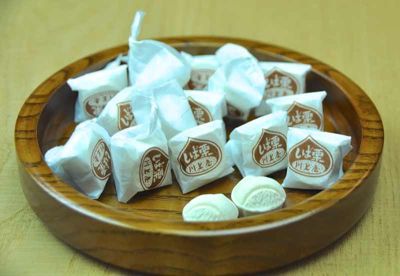 中津川「栗百菓-8」しば栗、川上屋本家