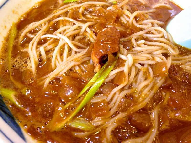 美味しいお昼ご飯 「カレー蕎麦+トロトロ焼豚丼」 付知峡そば茶屋  border=