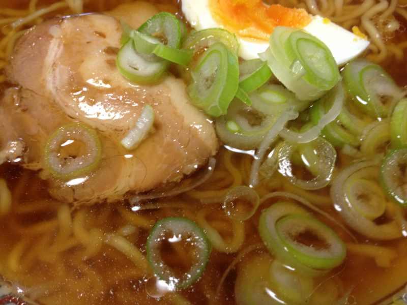 美味しいお昼ごはん マルちゃん正麺しょうゆ味