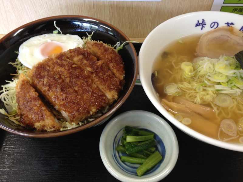 美味しいお昼ご飯、「とくとく神坂セット」 神坂PA  border=