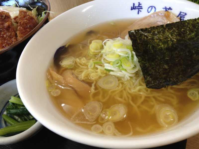 美味しいお昼ご飯、「とくとく神坂セット」 神坂PA