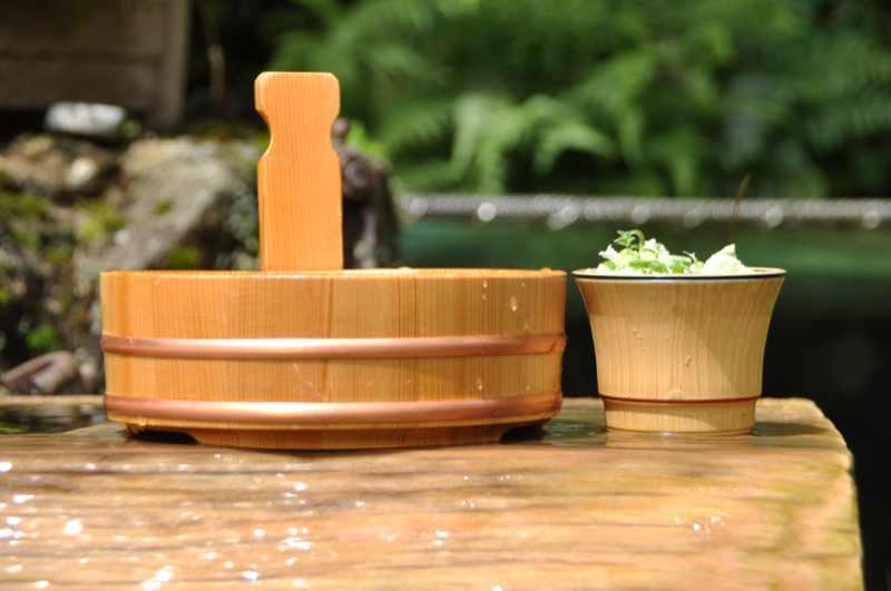 美味しいお昼ごはん 天然水で「そうめん」