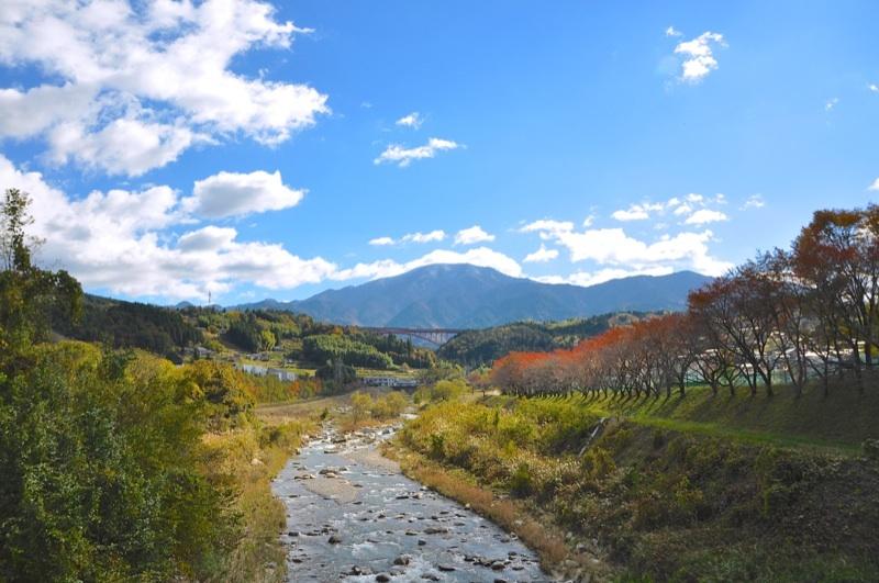 今日の恵那山-2  落合橋から border=