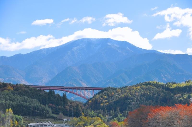 今日の恵那山-2  落合橋から