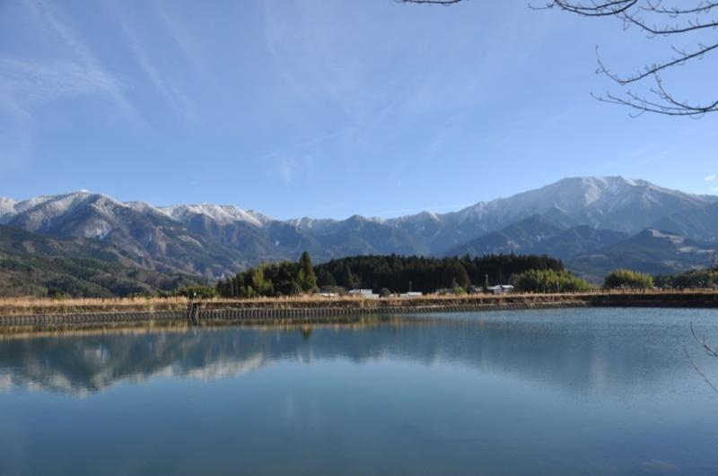 今日の恵那山と富士見台高原 border=