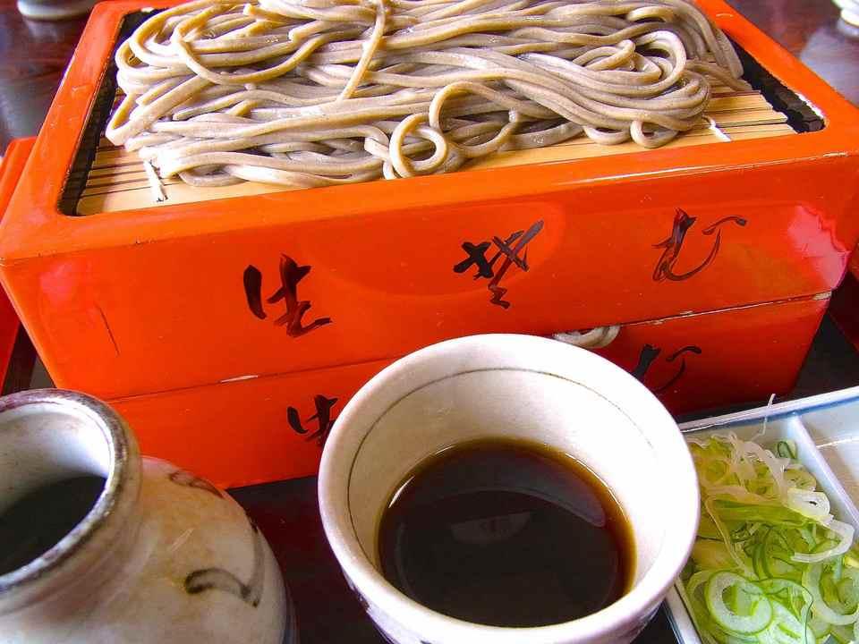 美味しいお昼ごはん 「生蕎麦のくるまや」中津川