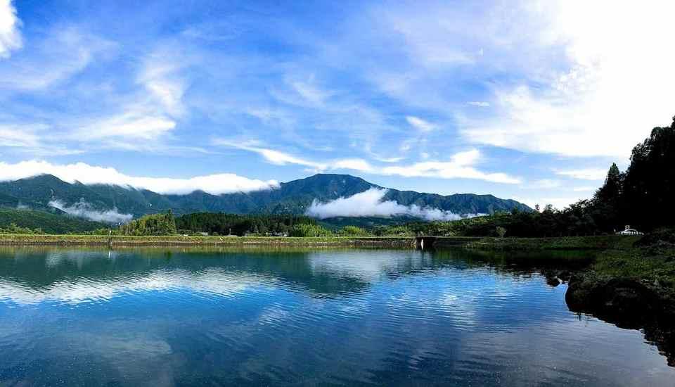 恵那山が見えた! Iphone Panorama