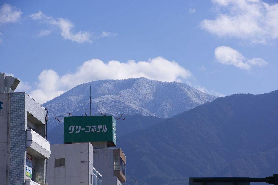 恵那山真っ白