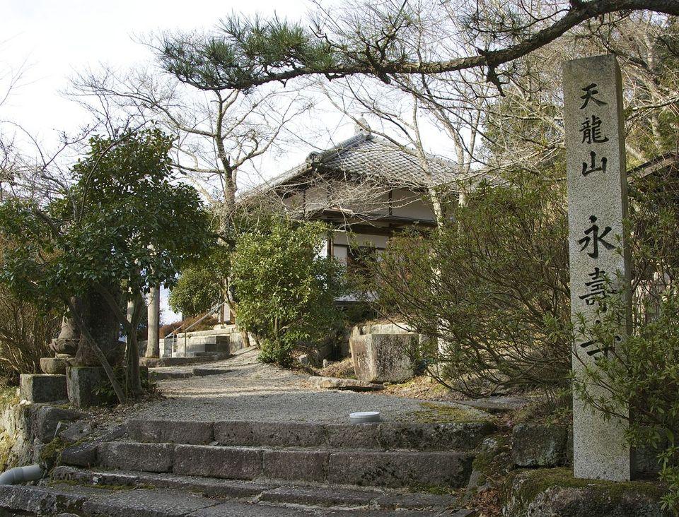 お寺のないはずの苗木にお寺があった。 border=