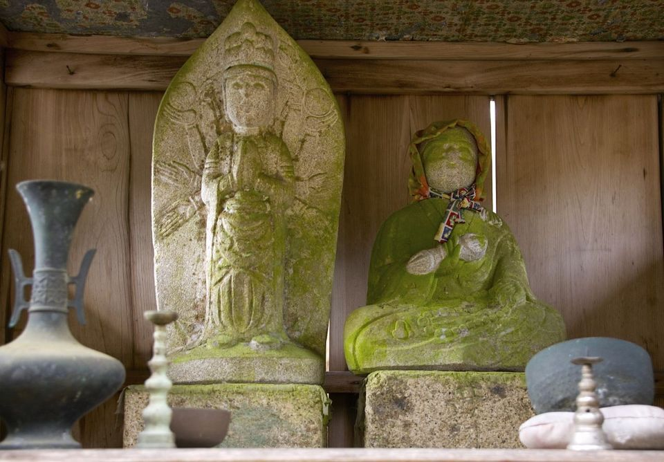 お寺のないはずの苗木にお寺があった。