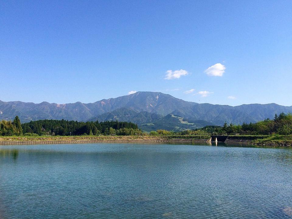 五月晴れの恵那山