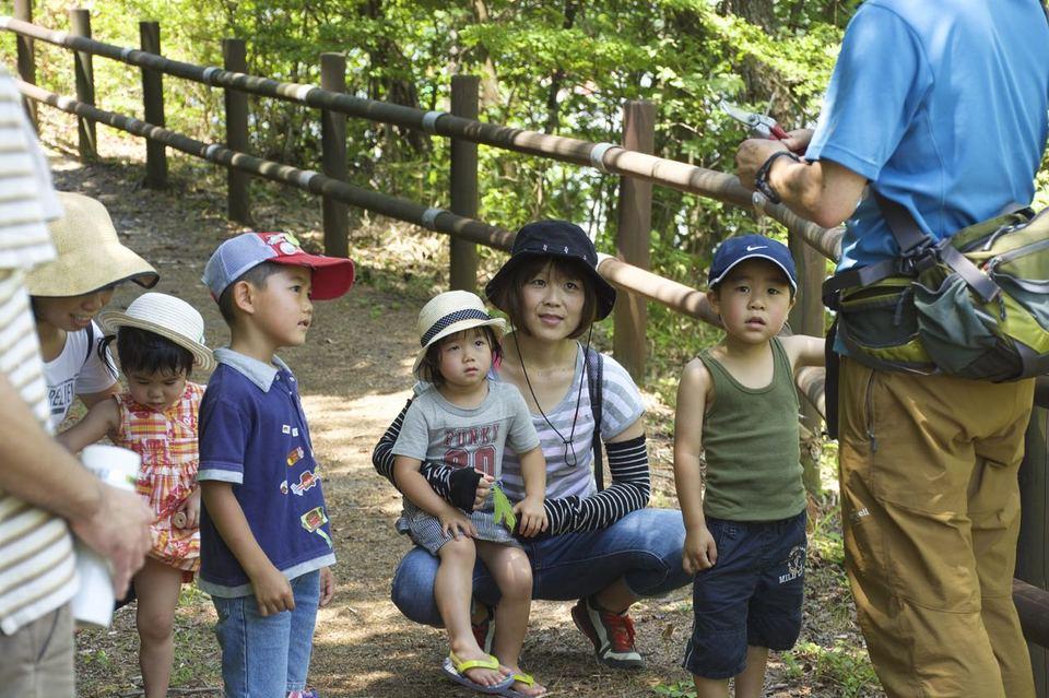 7.11 高峰湖 カヤック& 森の学校 NHK取材