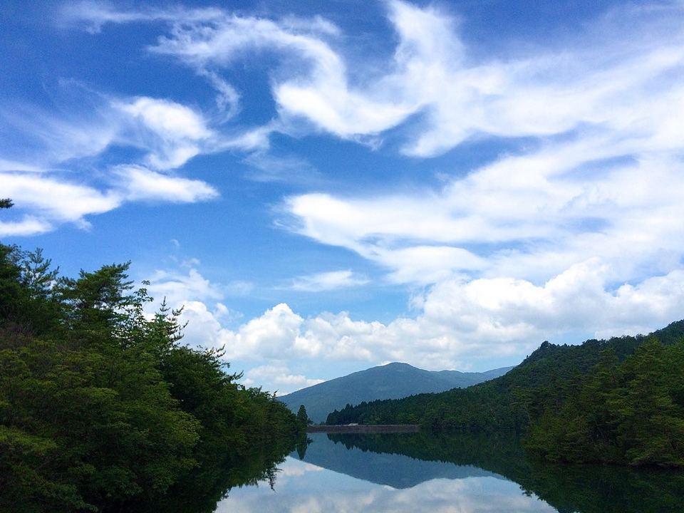 今日の高峰湖、7/25 border=