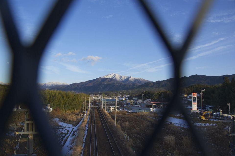 JR中央線と恵那山 border=