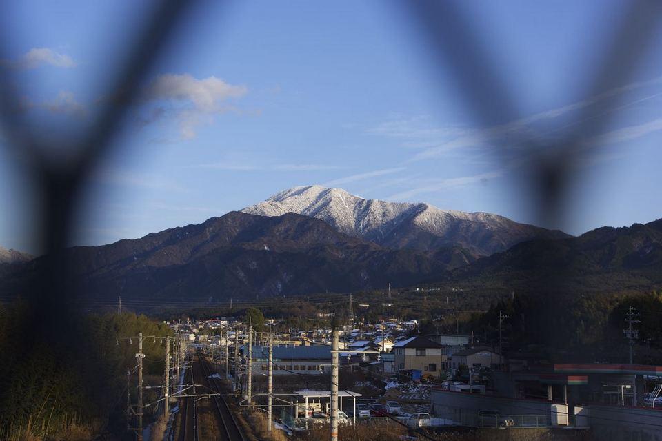 JR中央線と恵那山