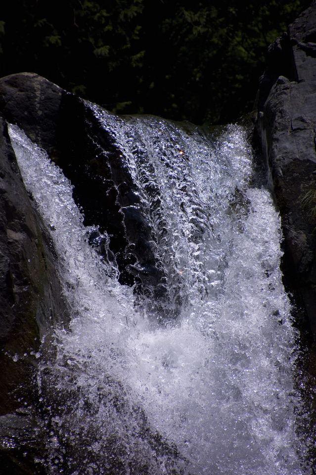 付知峡本谷 高樽の滝 独り占め