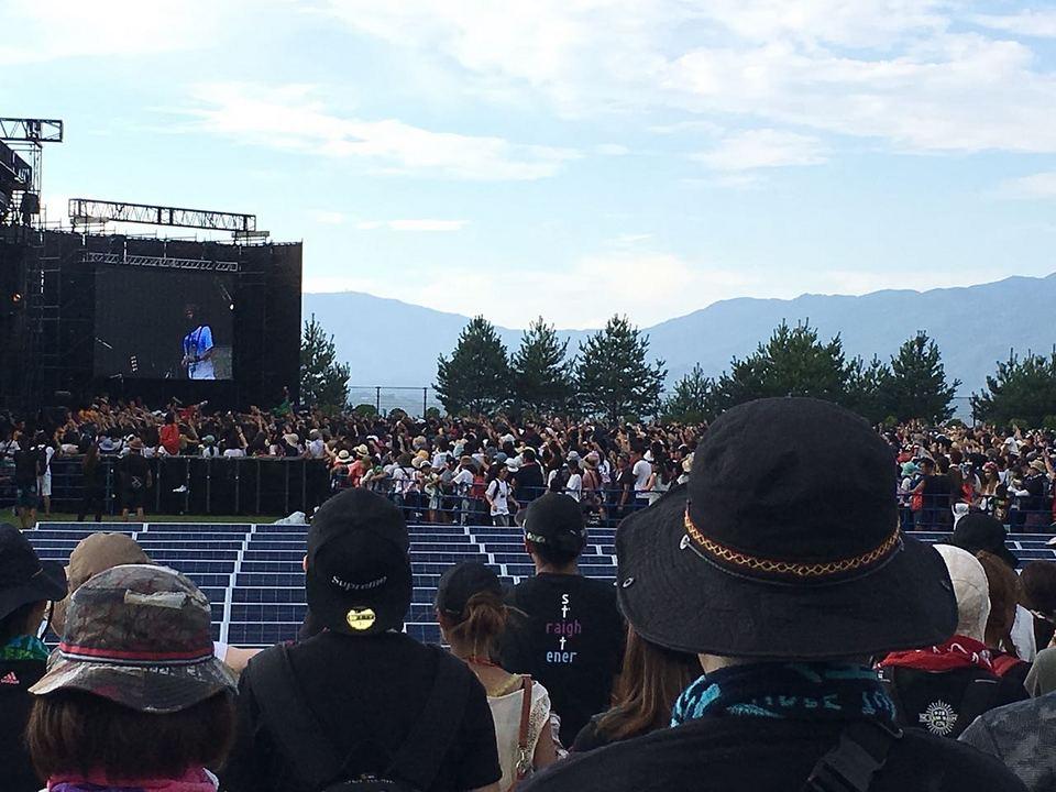 中津川ソーラー武道館フェス。9月10日