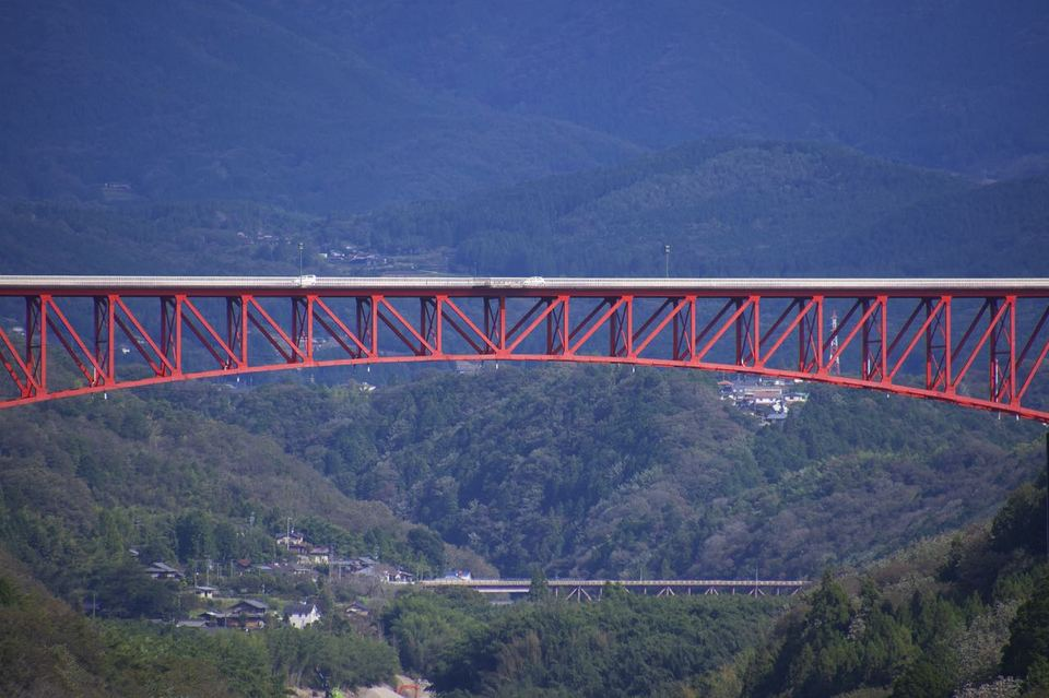 木曽川と城山大橋