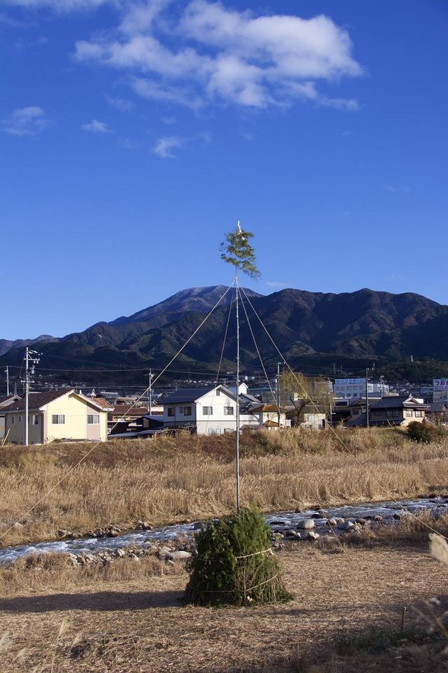恵那山と「どんど場」