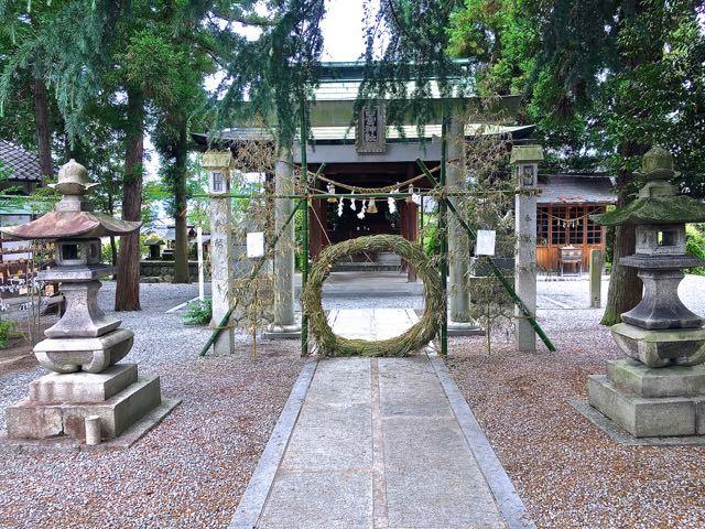 中津川西宮神社「茅の輪くぐり」