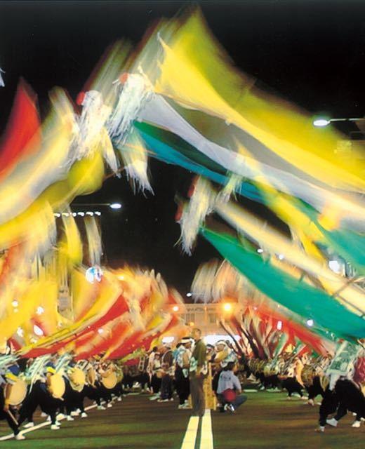 明日はおいでん祭本祭り「風流おどり」 border=
