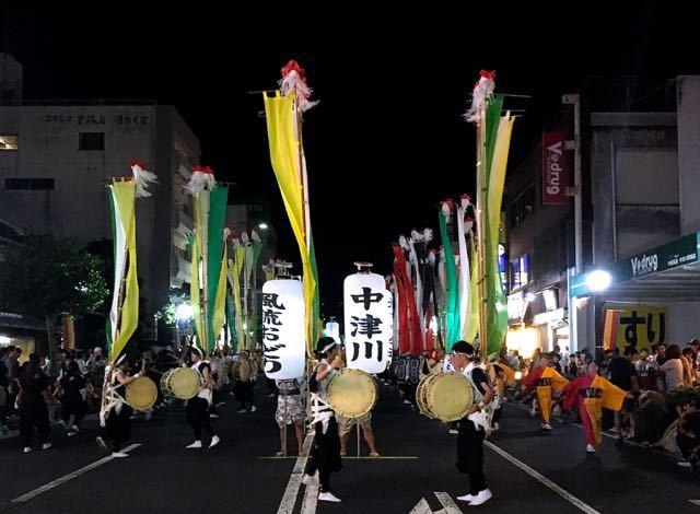 2017 中山道中津川おいでん祭 風流おどり