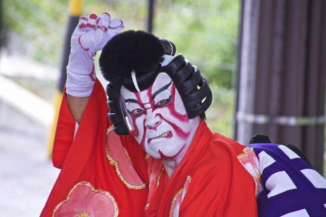 中津川宿六斎市まちなか歌舞伎