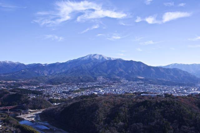 恵那山の上に白竜が‼︎ border=
