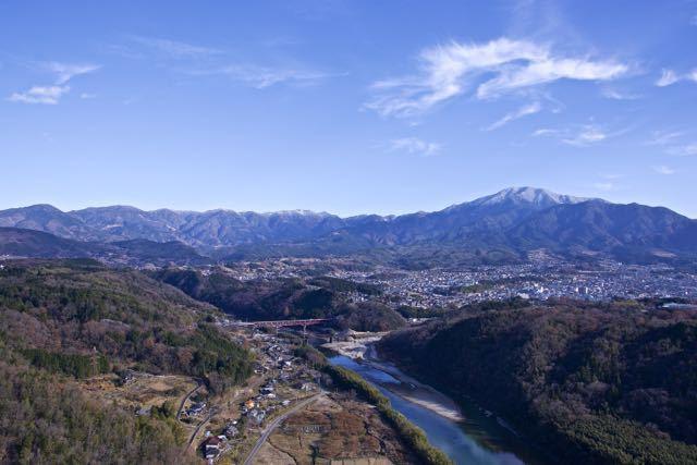 恵那山の上に白竜が‼︎