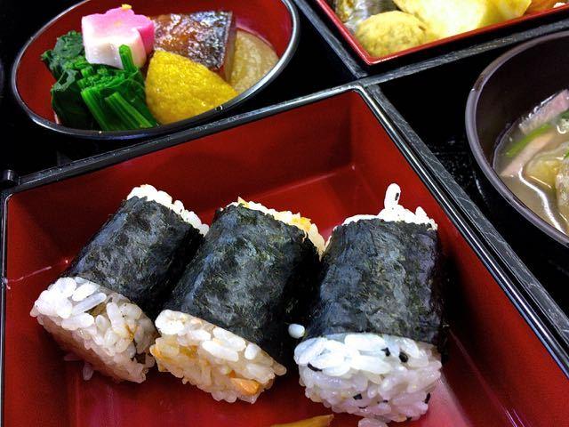 中津川美味しいお昼ごはん 1月5日は仕事始めのお弁当