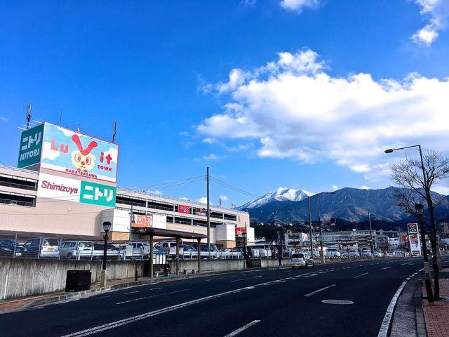 ルビットタウン中津川と日本百名山「恵那山」 border=