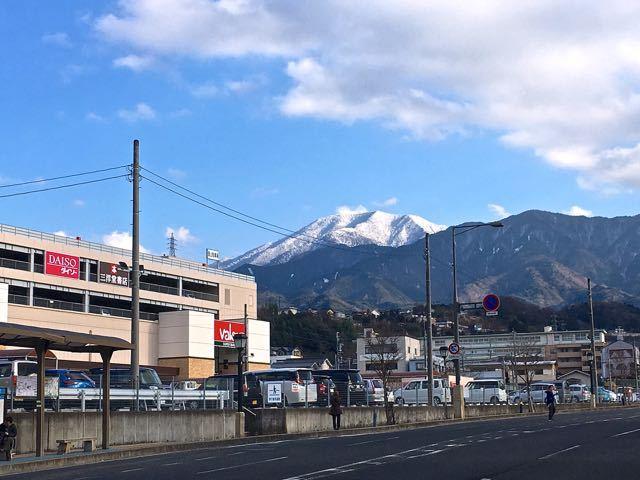 ルビットタウン中津川と日本百名山「恵那山」