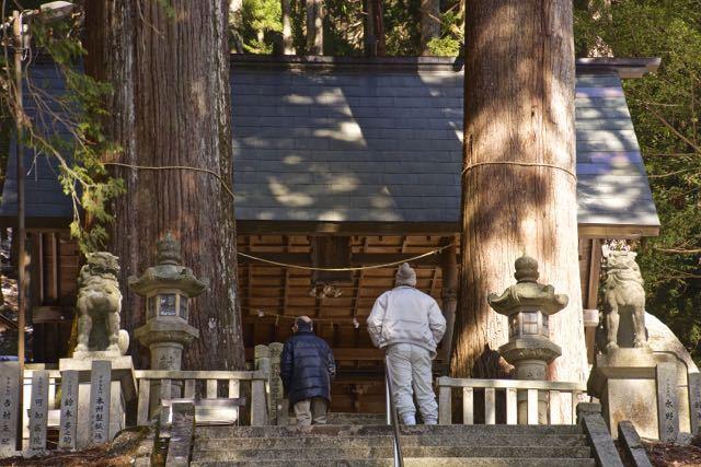 恵那神社と夫婦杉の不思議なパワー。