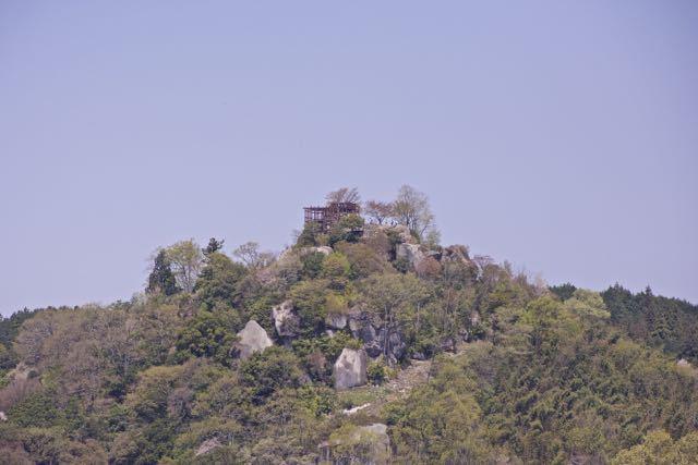 春爛漫の苗木城跡