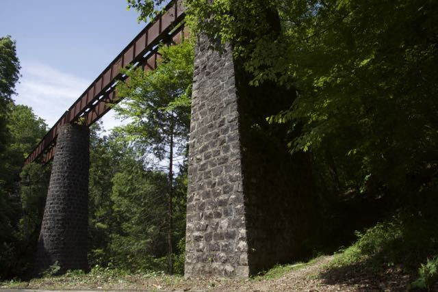 北恵那鉄道山之田川鉄橋。6月3日のJRさわやかウォーキングはここを歩きます。 border=