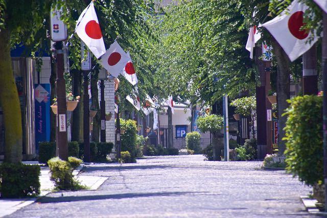 中津川日の丸商店街