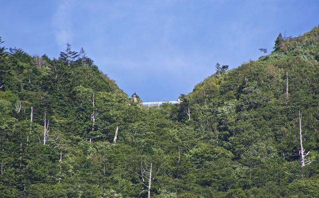 台風一過、富士見台神坂峠に秋の気配。