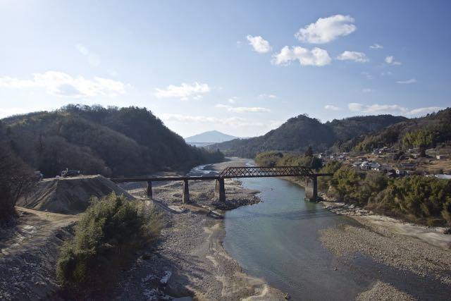 今日(2/17) 木曽川は流れていない模様 border=