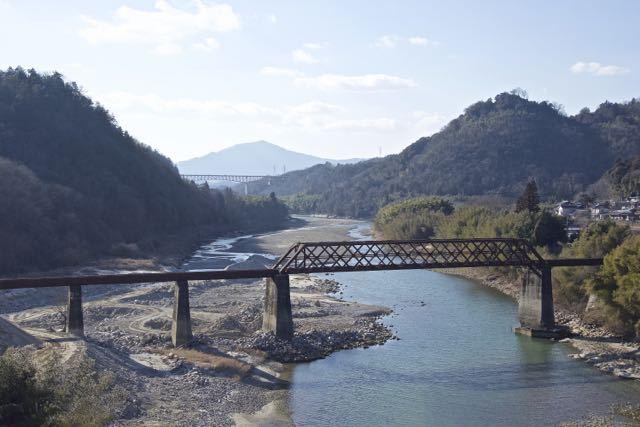 今日(2/17) 木曽川は流れていない模様
