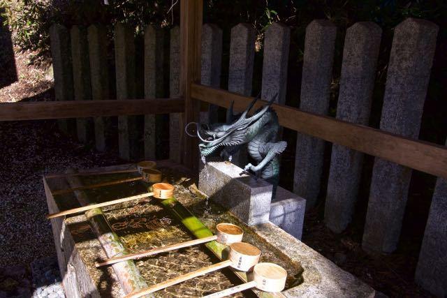 さすが、恵那神社の吐水龍。
