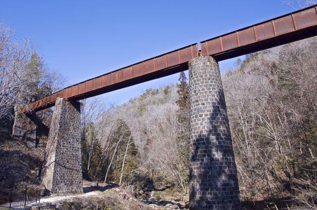 北恵那鉄道 山ノ田鉄橋