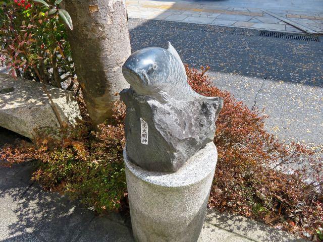 中山道中津川宿のパワースポット border=