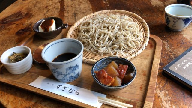 中津川美味しいお昼ごはん 蕎麦 すぎむら border=