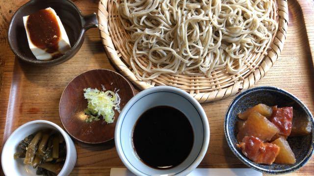 中津川美味しいお昼ごはん 蕎麦 すぎむら