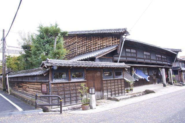 中山道中津川宿、旅籠田丸屋(現曽我家)。 border=