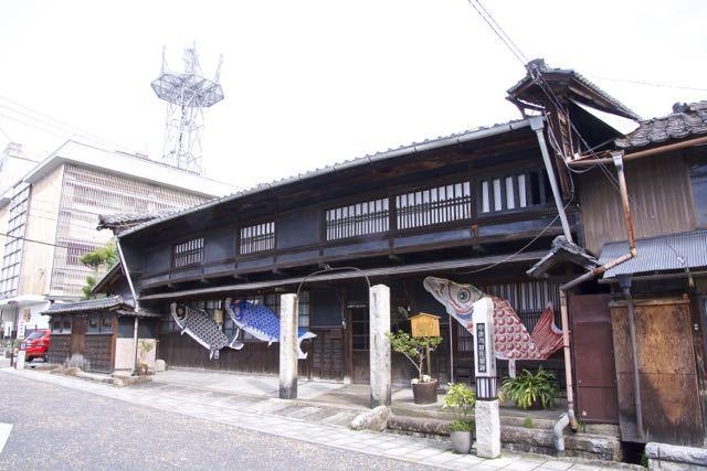 中山道中津川宿、旅籠田丸屋(現曽我家)。