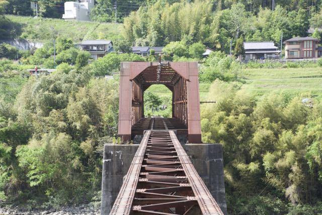 思い出の北恵那鉄橋