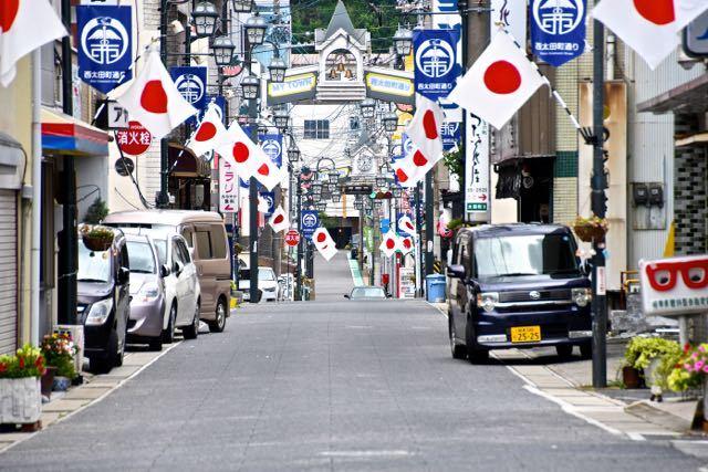中津川日の丸商店街 「海の日」