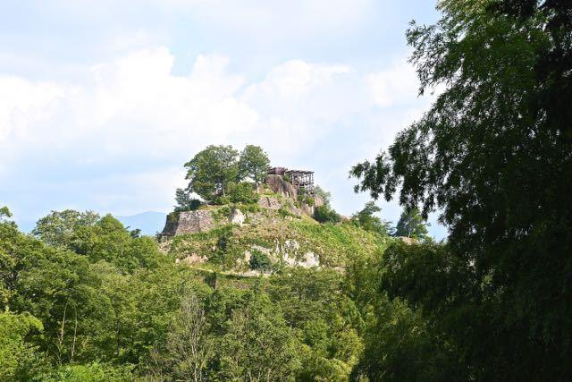 さあ‼︎ 緑の苗木城跡、絶景山城日本一。 border=